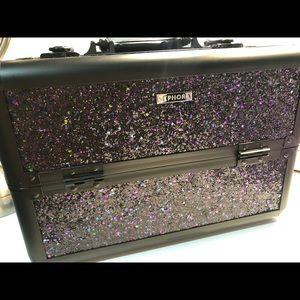 Sephora Spark A Celebration LRG glitter TrainCase
